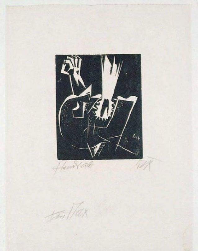 Las colecciones Otto Dix parte 6 b