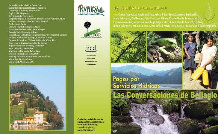 Fundación Natura Bolivia 2009                                       Las Conversaciones de BellagioTodos los derechos reser...