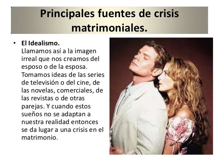 Biblia Matrimonio En Crisis : Las crisis en el matrimonio