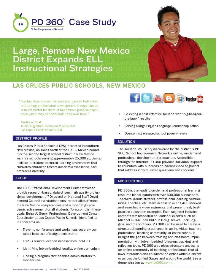 Las Cruces Public Schools, NM-Case Study
