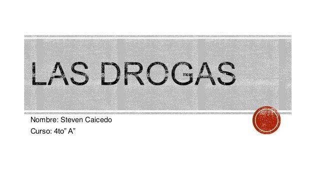 """Nombre: Steven CaicedoCurso: 4to"""" A"""""""