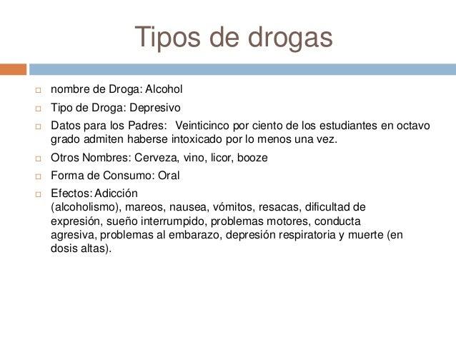 Los tipos de drogas for Clausula suelo wikipedia
