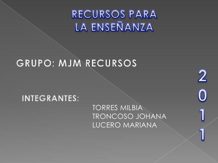 TORRES MILBIATRONCOSO JOHANALUCERO MARIANA