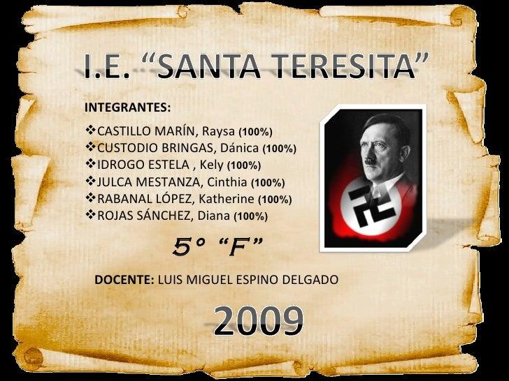 <ul><li>INTEGRANTES: </li></ul><ul><li>CASTILLO MARÍN, Raysa  (100%) </li></ul><ul><li>CUSTODIO BRINGAS, Dánica  (100%) </...