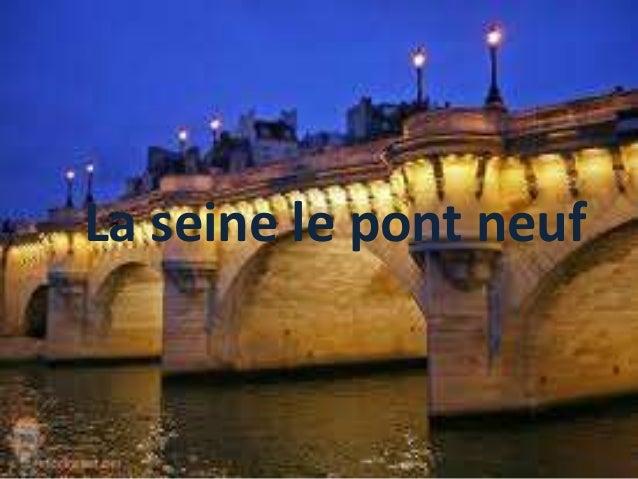 La seine le pont neuf