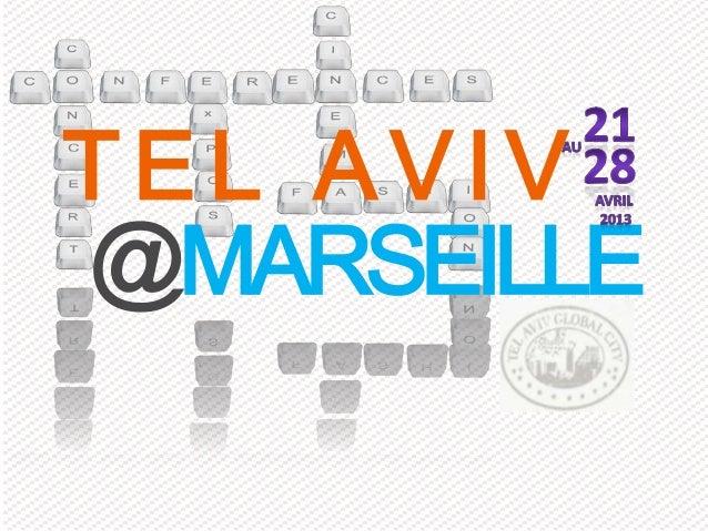 TEL AVIV@MARSEILLE
