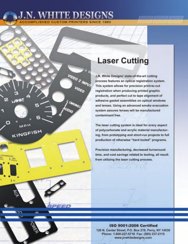 Laser Cutting - Precision Print-to-Cut Registration