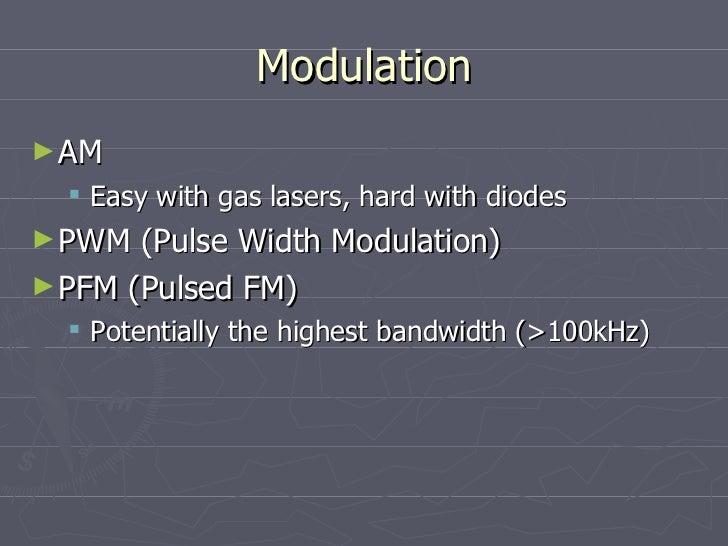 Laser Pulse Width Modulation Pulse Width Modulation