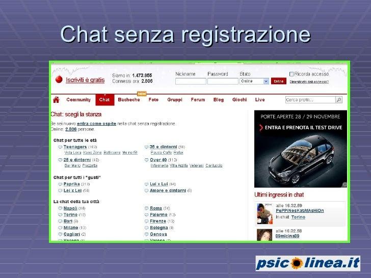 chat italy gratis senza registrazione massaggi cinisello