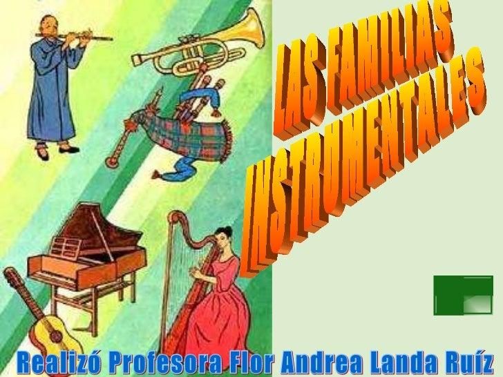 Lasfamiliasinstrumentales
