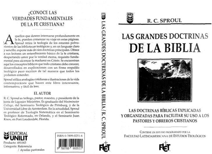 Las grandes doctrinas de la biblia  [r. c. sproul]