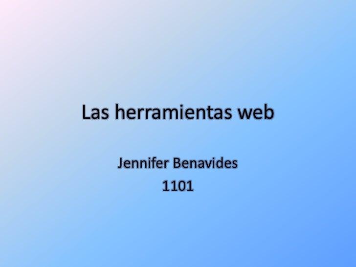 Las herramientas web-benavides