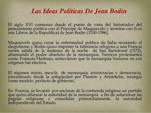 Las ideas pol ticas de jean bodin - Republica de las ideas ...