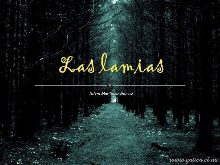 Las Lamias
