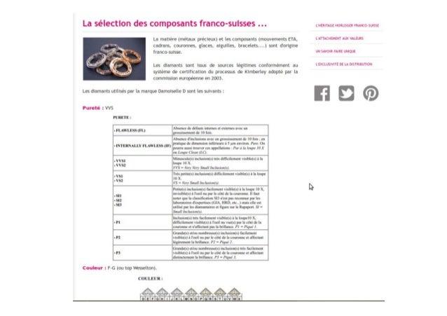 LA SELECTION DES COMPOSANTS FRANCO-SUISSE
