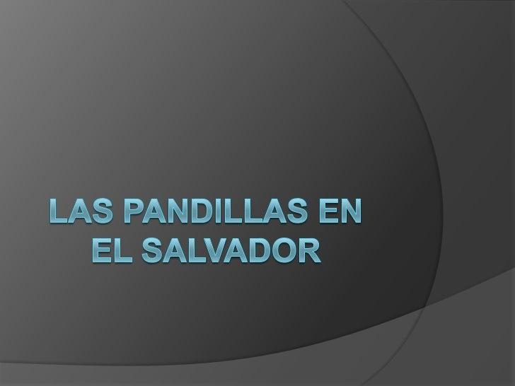 """ Pensamiento         de la Mayoría:     Es el mayor problema de la sociedad     salvadoreña.   Posee un carácter de """"UR..."""