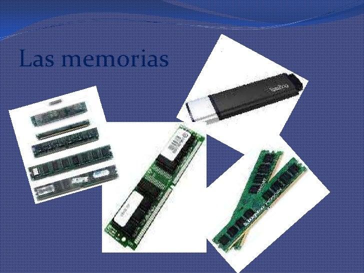 Las memorias<br />