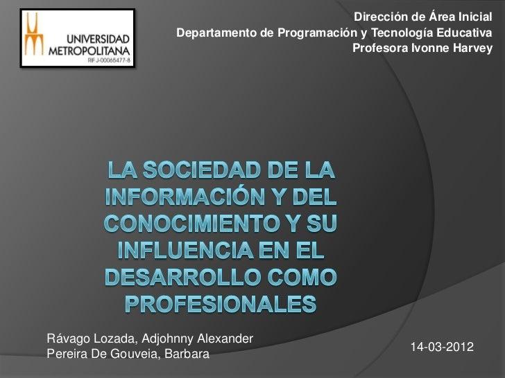 Dirección de Área Inicial                    Departamento de Programación y Tecnología Educativa                          ...