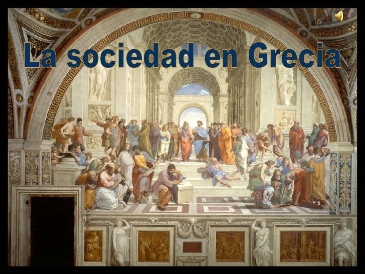 La sociedad en Grecia