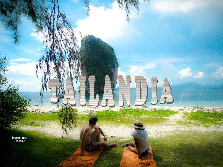 Las paradisicas islas de Tailandia