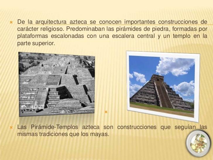 Arquitectura azteca caracteristicas images for Caracteristicas de la arquitectura