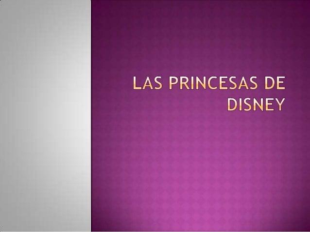Las princesas más famosas de disney