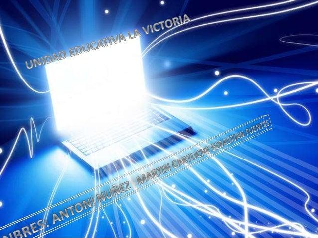 QUE ES EL INTERNET Internet es un conjunto descentralizado de redes de comunicacióninterconectadas que utilizan la familia...