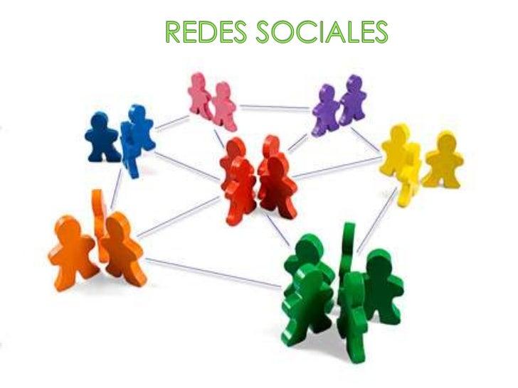 Las redes sociales son estructuras sociales compuestas de grupos depersonas, las cuales están conectadas por uno o varios ...
