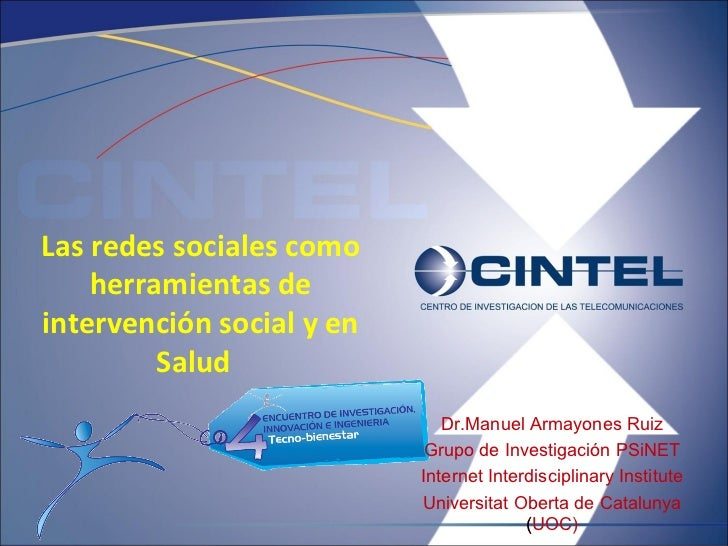 Las Redes Sociales Como Herramientas De IntervencióN Social En Salud
