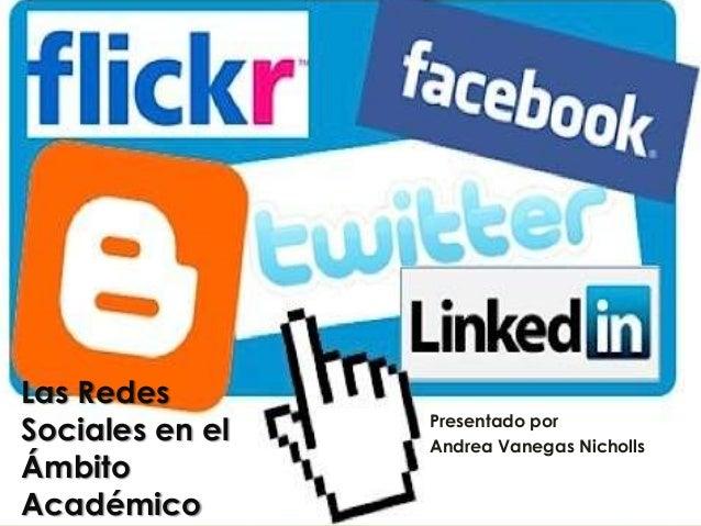 Las redes sociales en el ambito académico