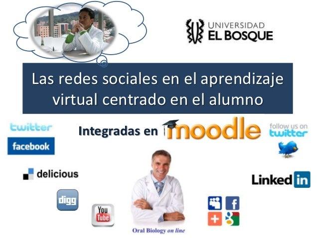 Las redes sociales en el aprendizaje virtual centrado en el alumno