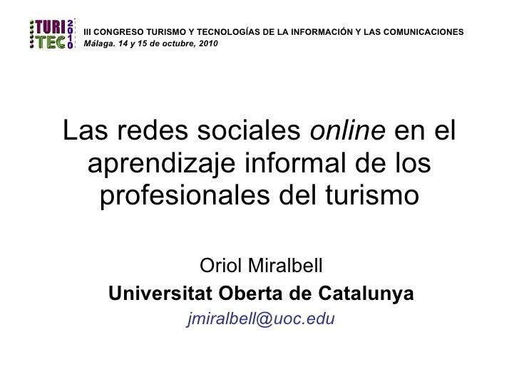 Las redes sociales ponenci