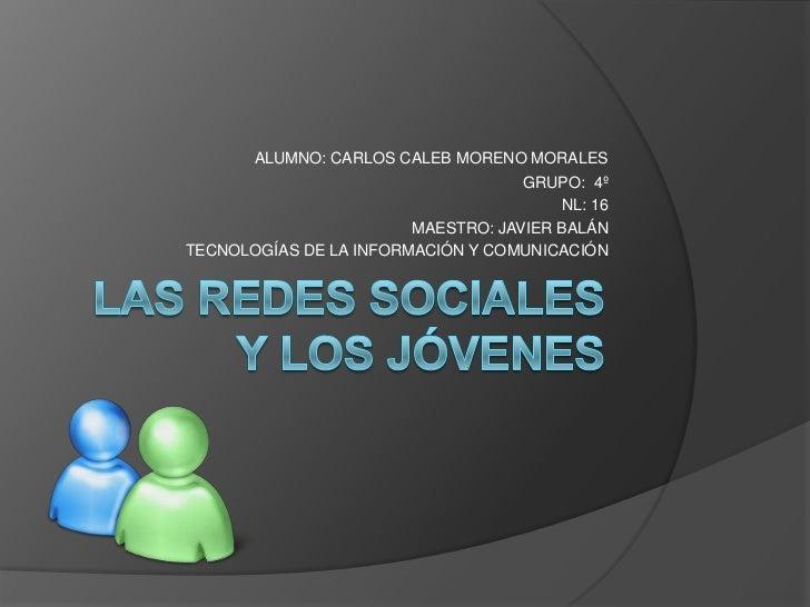 Las redes sociales y los jvenes