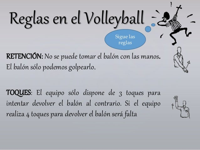 Reglas Basicas De Voleibol Las Volleyball