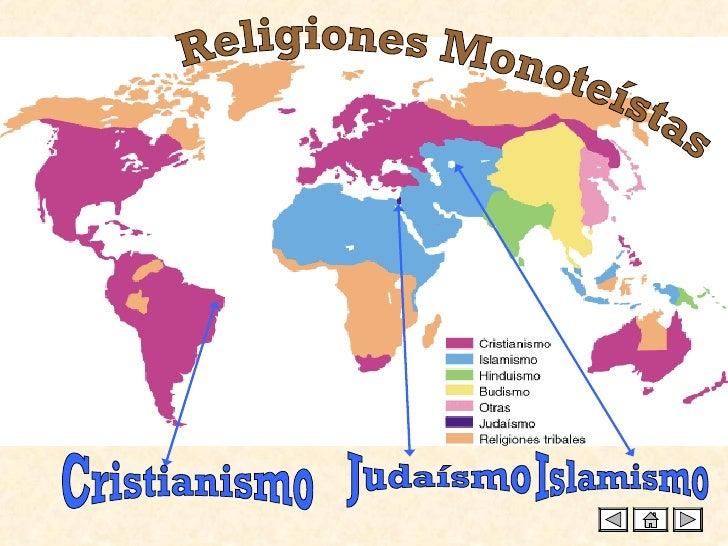 Religiones Monoteístas Judaísmo Cristianismo Islamismo