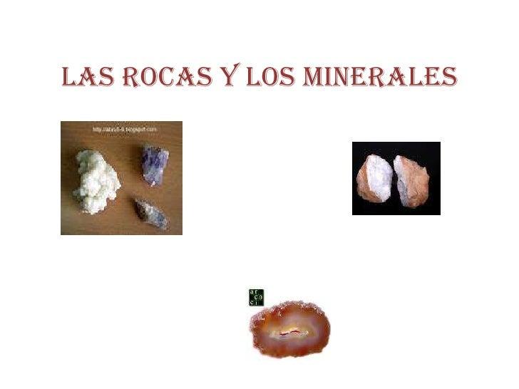 Las Rocas y los Minerales A.  Artero