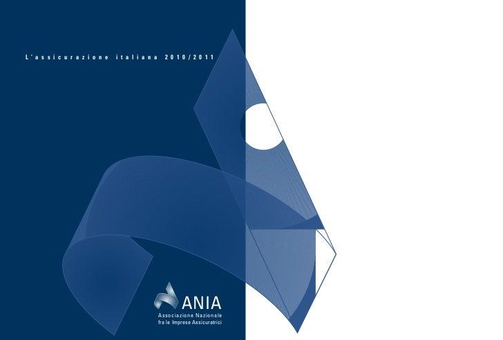 L'assicurazione italiana nel 2010/2011