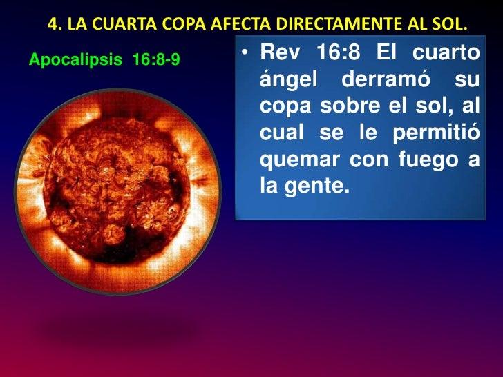 Resultado de imagen para APOCALIPSIS 16, 8-9