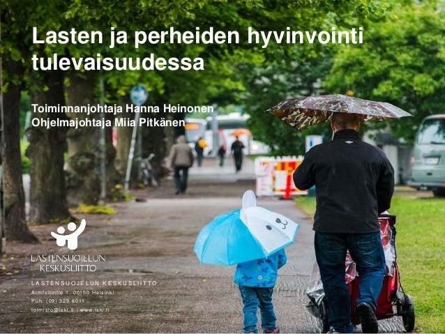 lasten hyvinvointi Rovaniemi