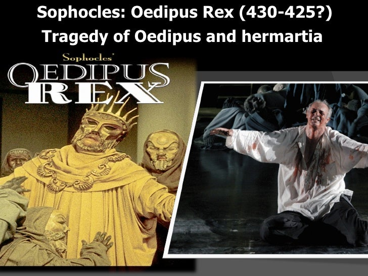 sophocles oedipus rex as modern tragedy Tragedy, greek - dramatic irony in oedipus rex by sophocles.