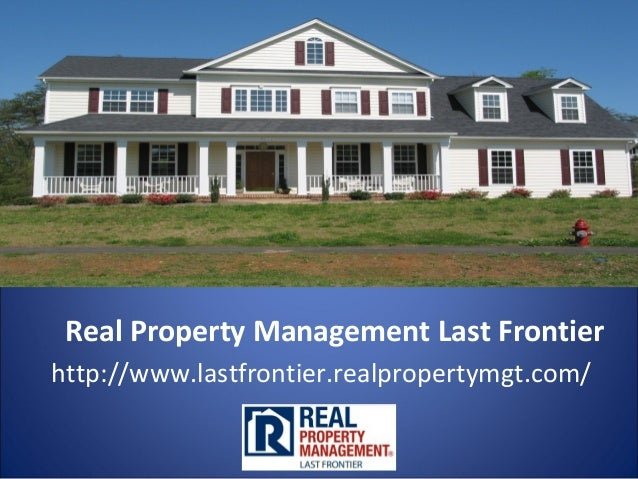 Real Property Management Last Frontier