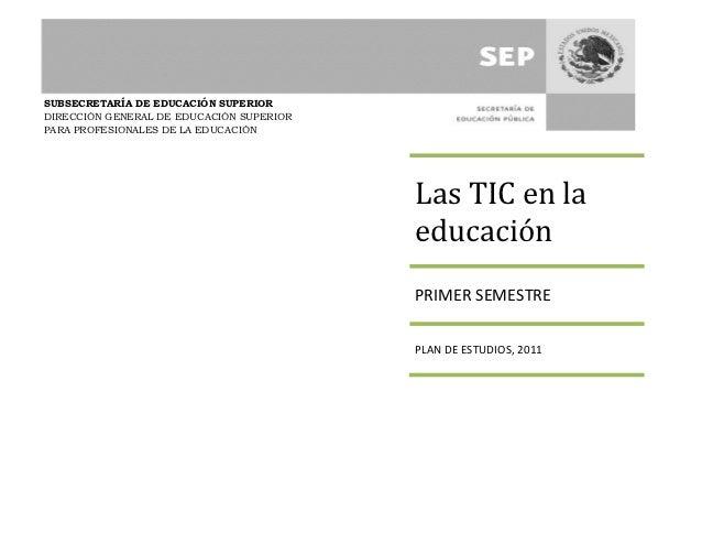 Las tic en_la_educacion programa
