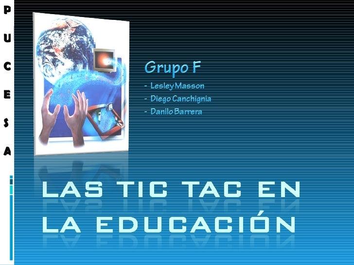 Las Tic Tac En La EducacióN
