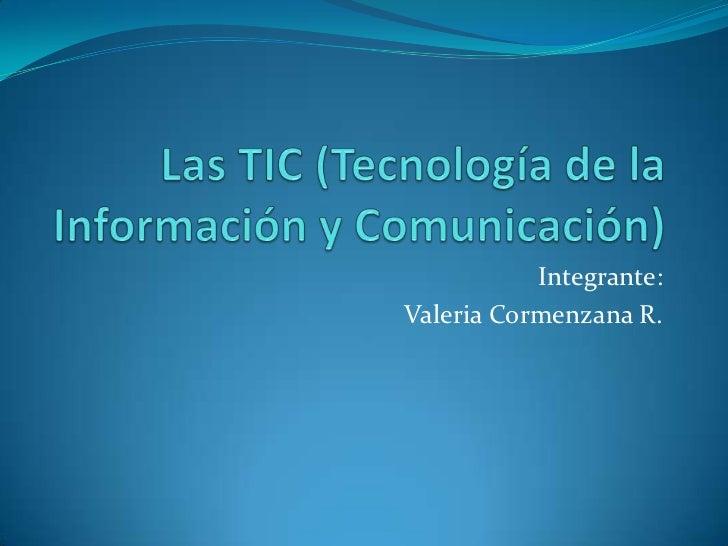 ¿Qué es TIC?