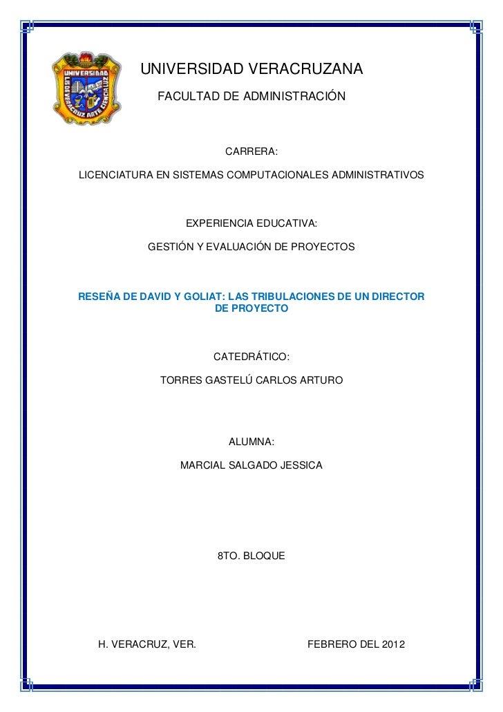 UNIVERSIDAD VERACRUZANA             FACULTAD DE ADMINISTRACIÓN                        CARRERA:LICENCIATURA EN SISTEMAS COM...