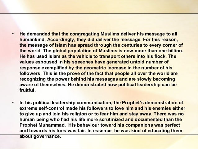 The Last Sermon of Prophet Muhammad Saw Last Sermon of Prophet