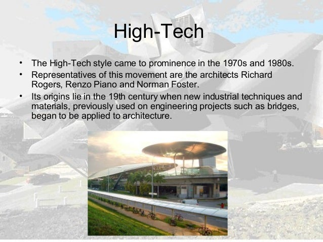 Last trends in architecture new for Architecture high tech