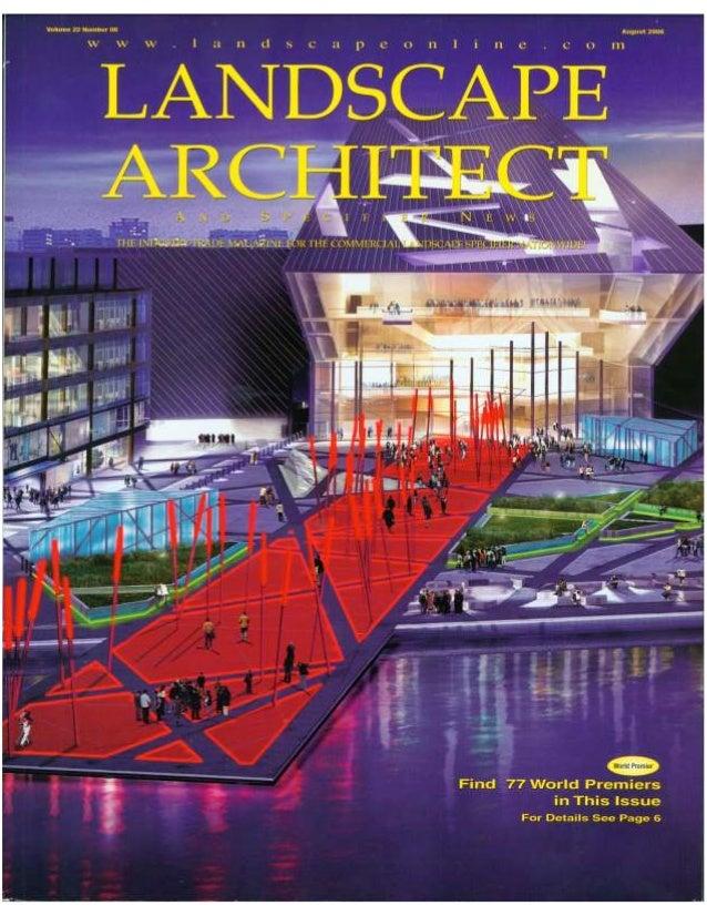 Landscape Architect & Specifier News Article