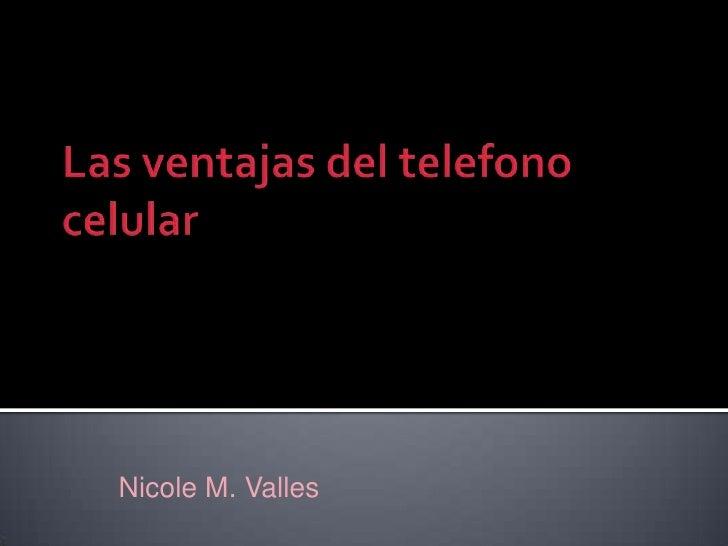 Nicole M. Valles