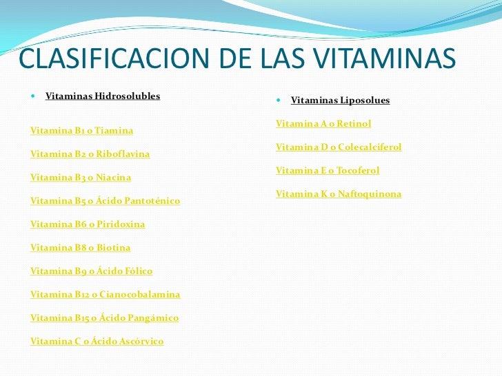 Las vitaminas en los animales for Clasificacion de los planos arquitectonicos
